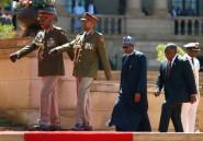 Les présidents sud-africain et nigérian