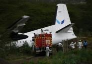 Kenya: un avion sort de la piste au décollage, deux blessés