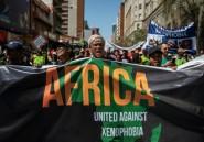 Afrique du Sud: manifestation de réfugiés contre les violences xénophobes