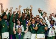 """Rugby: les """"héros"""" Springboks de retour dans une Afrique du Sud en crise"""