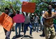 Zimbabwe: manifestation sous haute surveillance des fonctionnaires contre l'hyperinflation