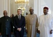 Sahel: Macron annonce des décisions prochaines sur la lutte antijihadiste