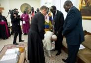 Voeux de paix du pape et de l'archevêque de Canterbury au Soudan du sud