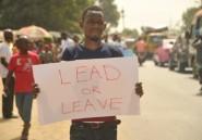 Des milliers de Libériens manifestent contre la gouvernance de Weah