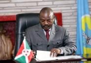 Le président du Burundi