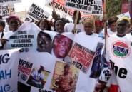 Gambie: des victimes du régime de Yahya Jammeh réclament justice dans les rues de Banjul