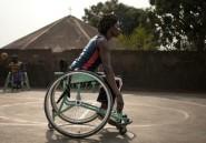 Handicap: des Centrafricains de la clinique au terrain de basket