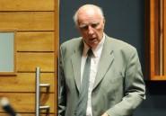 Afrique du Sud: l'ancien joueur de tennis Bob Hewitt a été libéré
