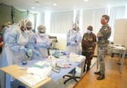 Des militaires français forment des médecins gabonais dans leur guerre contre le coronavirus