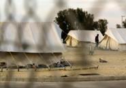 A Chypre, des centaines de migrants entassés dans un camp, dans l'attente de leur sort