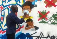 A Kinshasa, les murs ont la parole contre le déni du coronavirus