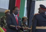 Le président du Malawi déj