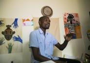Au Cameroun, un plasticien peint la fragilité du monde face au coronavirus