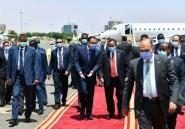 Soudan: le Premier ministre égyptien en visite