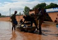 Crue du fleuve Niger: plusieurs quartiers de la capitale sous les eaux