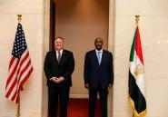 Le Soudan écarte devant Mike Pompeo une normalisation prochaine avec Israël