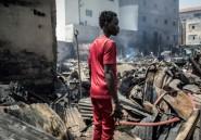 Sénégal: un violent incendie ravage un marché historique de Dakar