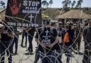 Meurtre d'un fermier blanc sud-africain: vives tensions devant le tribunal