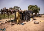 """Burkina: victimes des jihadistes, des déplacés rêvent d'un toit ou d'une """"bonne tente"""""""