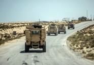 """Egypte: 40 """"jihadistes"""" tués dans le nord du Sinaï en trois mois"""
