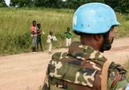 Centrafrique: des Casques bleus déployés, l'ONU appelle au calme