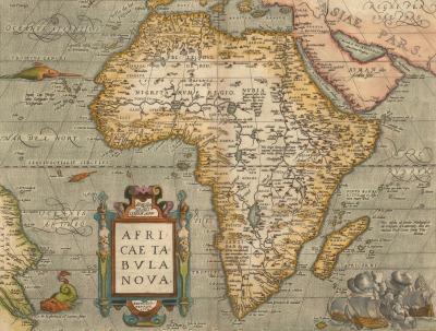 Carte De Lafrique Maghreb.Quand La Carte De L Afrique Ressemblait Vaguement A Celle