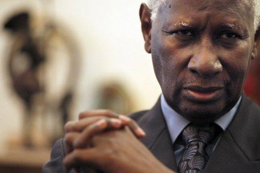 Le secrétaire général de la Francophonie, Abdou Diouf à Paris le 15 octobre 2010 AFP/Archives Joel Saget