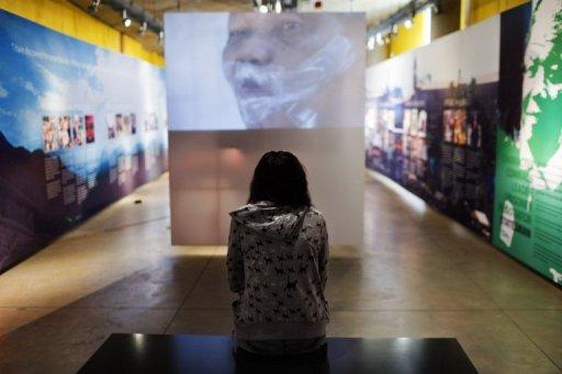 Le Musée de l'apartheid, le 19 mai 2010 à Johannesburg. AFP/Archives Gianluigi Guercia