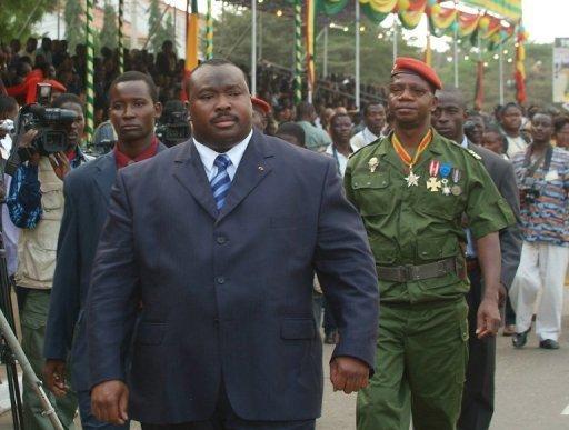 Kpatcha Gnassingbé, le 13 janvier 2006 à Lomé, au Togo AFP/Archives Erick Christian Ahounou