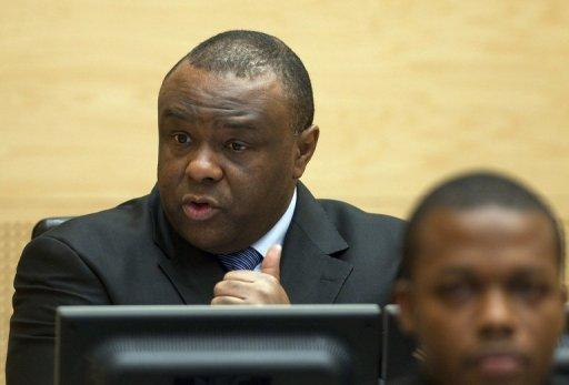 L'opposant congolais Jean-Pierre Bemba, le 22 novembre 2010 au tribunal de La Haye AFP/Archives Michael Kooren