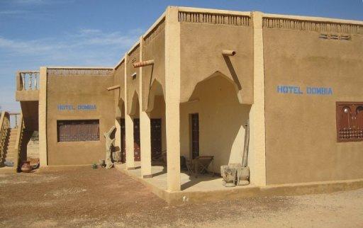 L'hôtel Dombia de Hombori, au Mali, photographié le 25 novembre 2011 AFP/Archives Serge Daniel