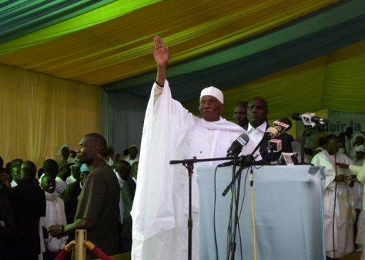 Le président sénégalais Abdoulaye Wade, le 23 janvier 2012 à Dakar AFP