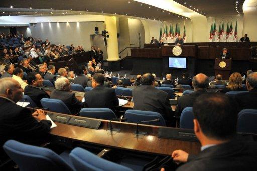 L'Assemblée populaire nationale à Alger AFP/Archives Fayez Nureldine