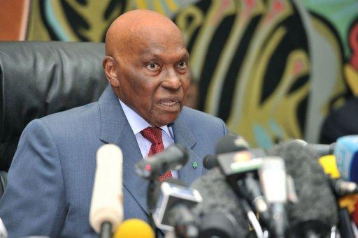 Abdoulaye Wade le 27 février 2012 au palais présidentiel à Dakar AFP Issouf Sanogo
