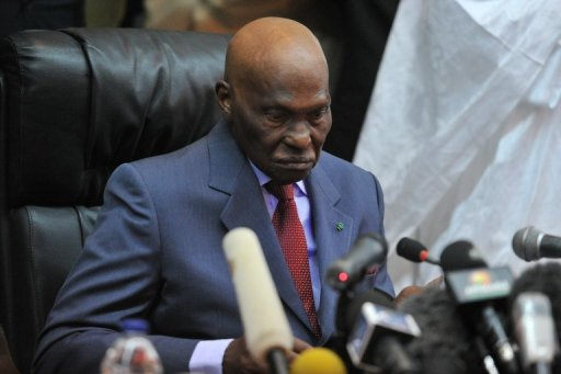 Abdoulaye Wade  le 27 février 2012 à Dakar AFP/Archives Issouf Sanogo