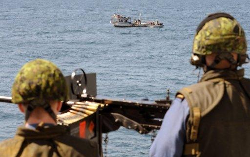 Des militaires canadiens participent à une opération anti-piraterie de l'Otan sur le