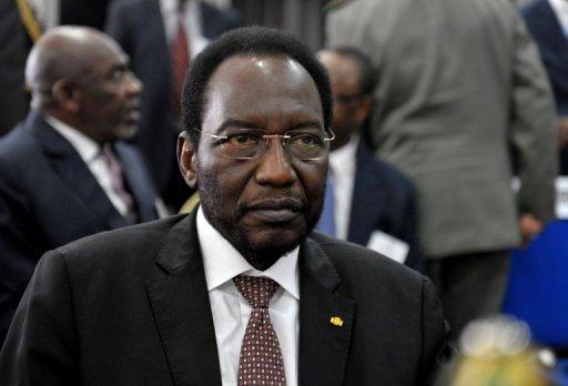 Le président malien de transition Dioncounda Traoré à Dakar le 3 mai 2012 AFP/Archives Seyllou