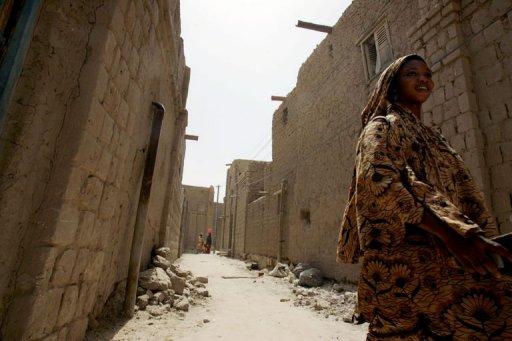 Une Malienne dans une rue de Tombouctou AFP/Archives Issouf Sanogo