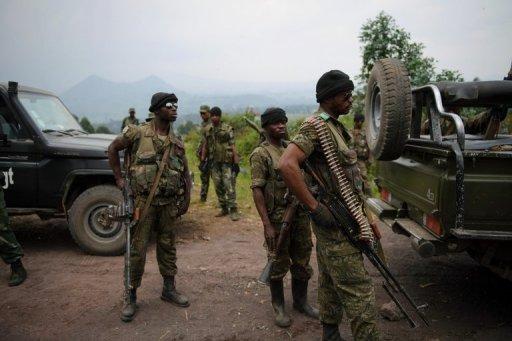 Des soldats des Forces armées de la RDC AFP/Archives Phil Moore