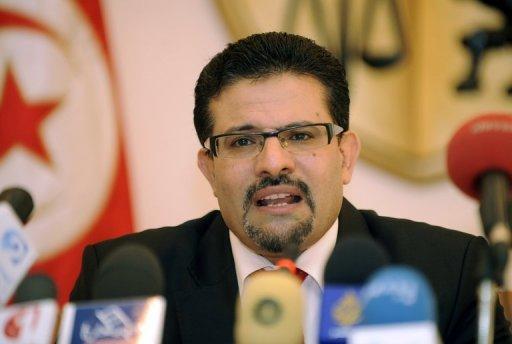 Le ministre des Affaires étrangères tunisien, Rafik Abdessalem, à Tunis le 8 août 2012 AFP/Archives Fethi Belaid