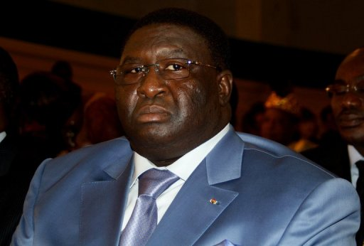 Pascal Bodjona, ex-ministre togolais de l'Administration territoriale, le 17 juin 2011 à Lomé AFP/Archives Emile Kouton