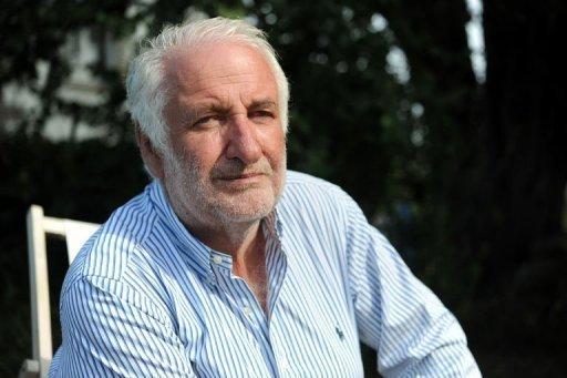 L'ancien patron du groupe pétrolier Elf, Le Floch-Prigent, le 20 août 2012 chez lui à Trébeurden, en France AFP/Archives Fred Tanneau
