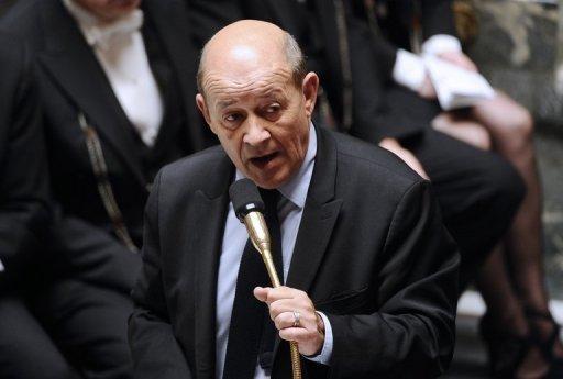 Jean-Yves Le Drian le 2 octobre 2012 à Paris AFP/Archives Lionel Bonaventure