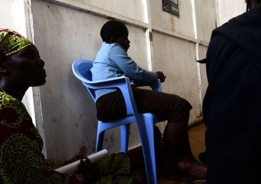 Une victime de viol dans un centre de soins à Goma, le 16 octobre 2012 AFP Junior D. Kannah