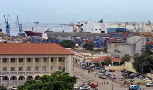 Le port de Luanda, en Angola AFP/Archives Issouf Sanogo