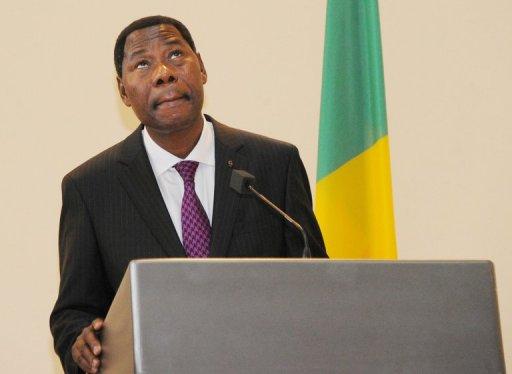 Le président béninois Thomas Boni Yayi, le 26 octobre 2012 à Cotonou AFP/Archives Kambou Sia