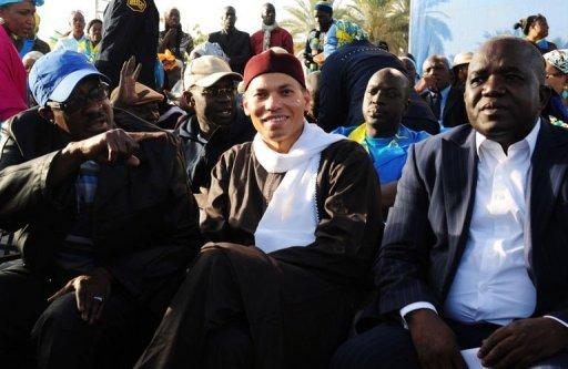 Karim Wade, le 6 décembre 2012 à Dakar AFP/Archives Seyllou