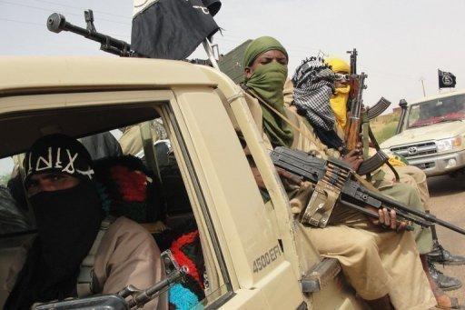 Des islamistes dans le nord du Mali, en août 2012 AFP/Archives Romaric Hien
