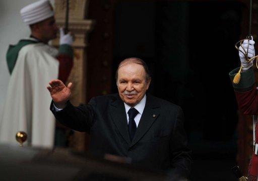 Le président algérien Abdelaziz Bouteflika, le 14 janvier 2013 à Alger AFP Farouk Batiche