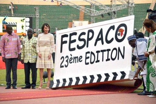 Ouverture du 23e Fespaco, festival du cinéma africain à Ouagadougou, le 23 février 2013 AFP Ahmed Ouaba